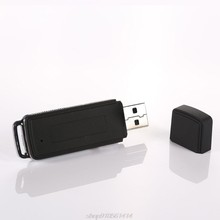 8GB Wiederaufladbare Mini USB-Stick Aufnahme Diktiergerät 70Hr Digital Voice Recorder Tragbare J29 21 Dropshipping