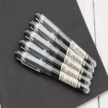 Stylos à Gel à séchage rapide, petits points blancs, 0.5mm, pointe d'écriture, encre noire, accessoires de bureau, fournitures de papeterie d'examen pour étudiants
