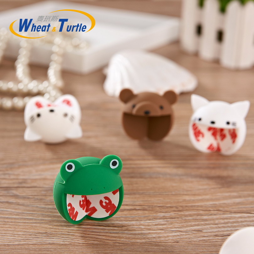 1Pcs Baby Safety Silicone Protector Cover Cute Animal Cartoon Table Corner Protector Child Kids Anticollision Corner Guards