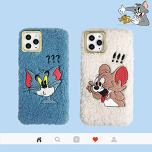 3D Embroidery Cartoon Winter Push Phone Case for iphone 11 Pro Max XR X 7 8 Plus