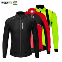 WOSAWE invierno ciclismo chaqueta a prueba de viento térmico caliente bicicleta de montaña abrigo chaqueta deportes al aire libre de bicicletas prendas de Snowboard