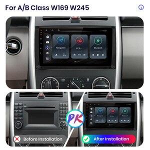 Image 2 - Junsun V3 Qualcomm Android 10รถวิทยุมัลติมีเดียเครื่องเล่นวิดีโอสำหรับ Mercedes Benz B Class W169 W245 CarPlay อัตโนมัติ2 Din DVD