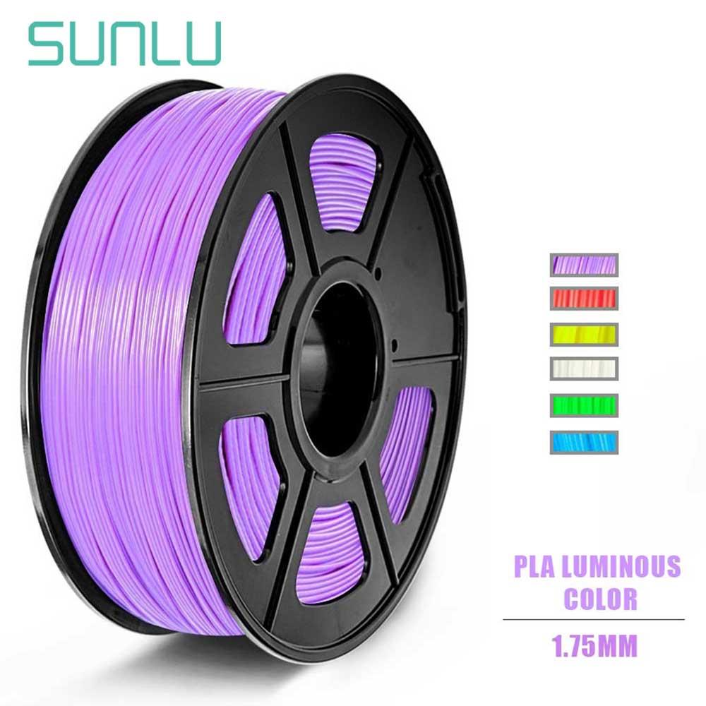 3D Printer Filament 1KG 2.2lb 1.75mm Dimensional Accuracy PLA Multiple Color Luminous Blue Yellow Green Purple Red Orange on AliExpress