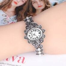 QINGXIYA Creative Quartz Women Wrist Watch Stainless Steel L