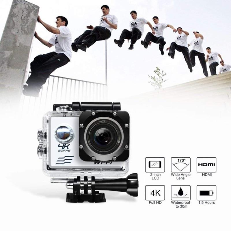 Go pro Camera Action Ultra HD 4K WiFi 2.0 Sports Video 170D Underwater Waterproof Car