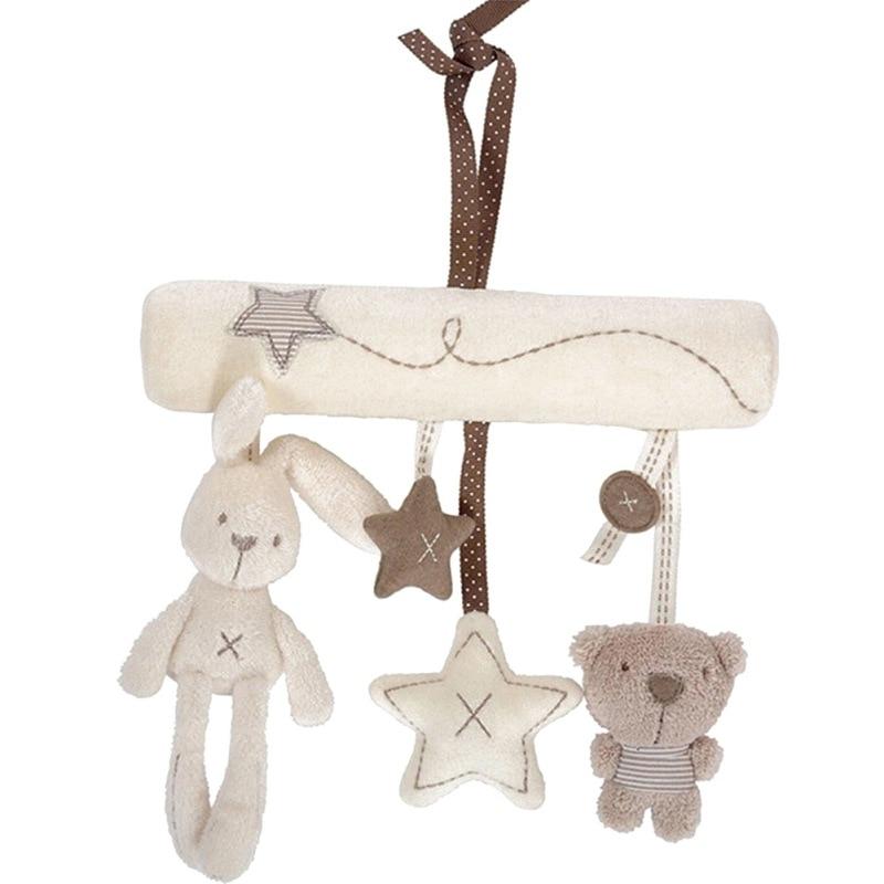 Baby Plush Toys Cartoon Bear Rabbit For Babys Girls Soft Comfort Towel Appease Dolls Newbrons Sleeping Toys