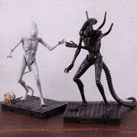 Hot Toy Movie Alien: Covenant Figure Alien Xenomorph Neomorph Alien Action Figure PVC Collectible Model Toy 2pcs/set