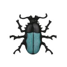 Gariton Beetle New Vintage Pin Novelty Fun Fashion Unique  Brooch Collar Men And Women Exquisite For
