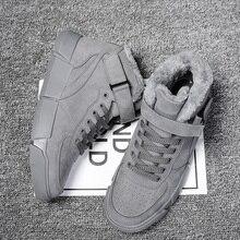 2019 Men Winter Warm Shoes Male Casual Lace Up Shoes Sapato Tenis Masculino Adulto Buty Scarpe Uomo Krasovki Sneakers Schoenen