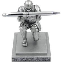 Office Accessories Organizer Pen Stand Pencil Holder Executive Soldier Figurine Knight Pen Holder for Office Desk Organizer
