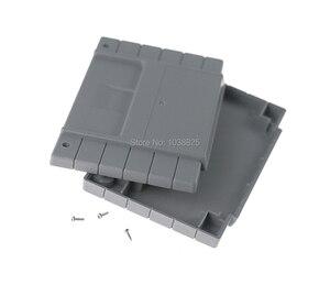 Image 4 - الولايات المتحدة الإصدار لعبة خرطوشة البلاستيك قذيفة 16 بت بطاقة الألعاب الإسكان الحال بالنسبة SNES/S FC مع 2 مسامير