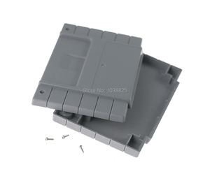 Image 4 - US Version Game Cartridge Plastic Shell 16 bit game card Housing case for SNES/S FC with 2 screws