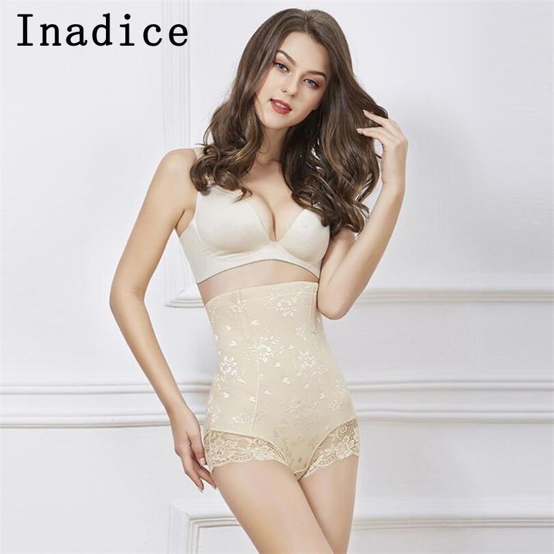 Inadice Body Shaper Elastic Belt High Waist Tummy Control For Women Briefs Slimming Pants Sexy High Quality Corset Belt 2019