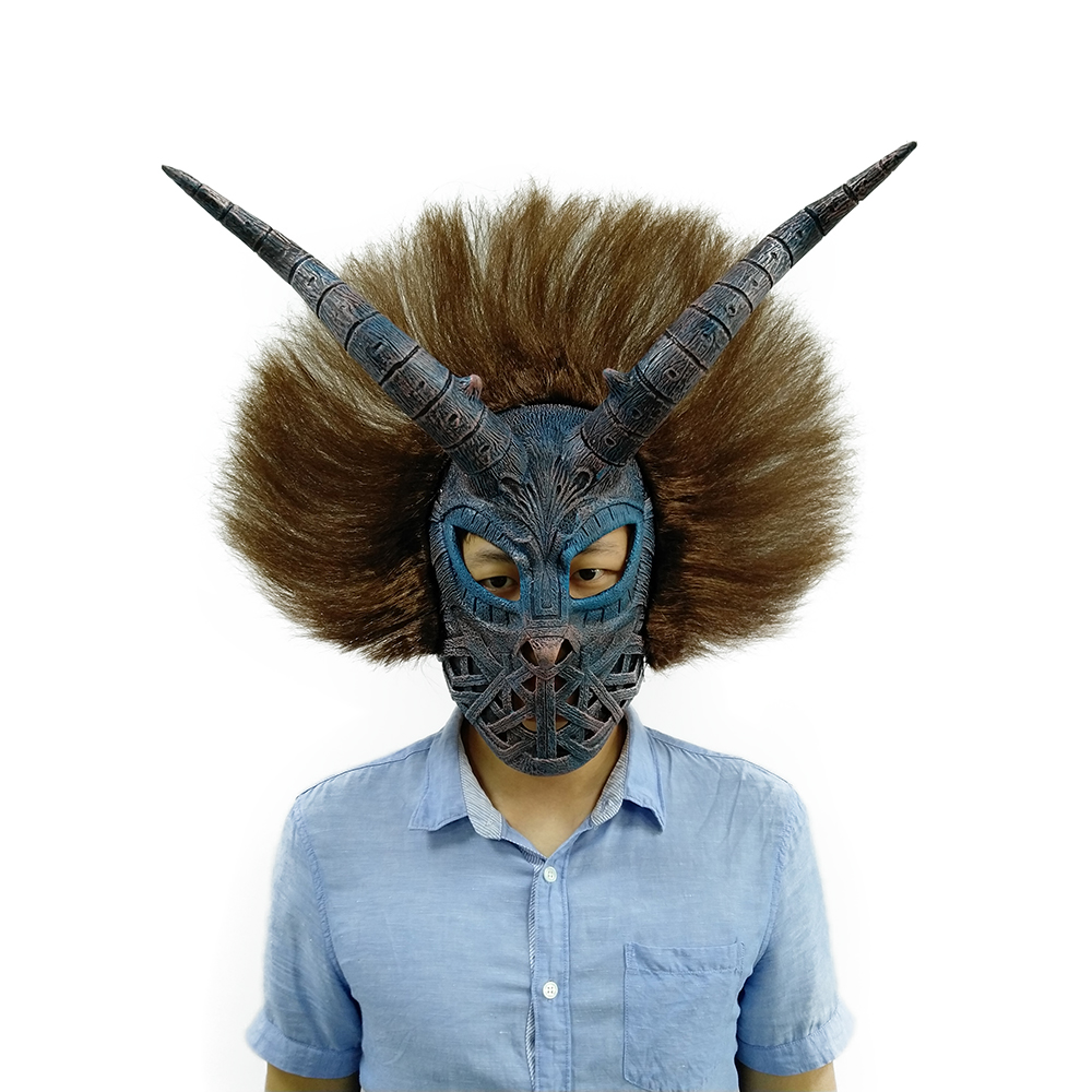 Erik Killmonger Mask Black Panther Cosplay Halloween Costume Accessory|Boys Costume Accessories|   - AliExpress