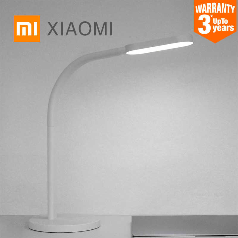 Xiaomi Mijia LED Meja Lampu Yeelight USB Pengisian Baca Lampu Meja Belajar Meja Kantor Light Portable Bending Bedside Night Light