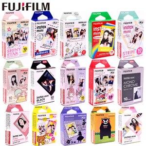 Image 1 - FujiFilm 10 tấm Ngôi Sao SỌC BẢN gọng Đen Minion Tức Thì Bộ Phim Giấy in ảnh cho Instax Mini 8 9 11 7S 25 50S 90 SP 1 2