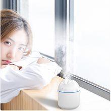 Ultradźwiękowy mininawilżacz powietrza Usb zapachowy olejek eteryczny dyfuzor domu samochód Fogger Mist Maker aromaterapia oleju Mini dla samochodu domu