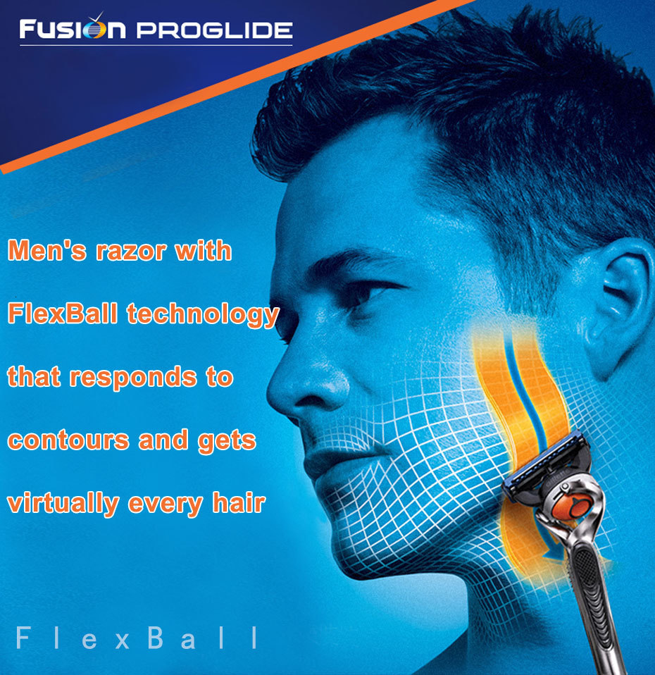 Gillette fusion 5 proglide navalha de segurança