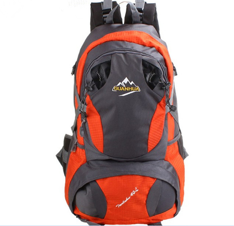 New Style Outdoor Bag Travel Bag Line Mountaineering Bag Large Capacity School Bag Super Wear-Resistant Anti-Spillage Backpack