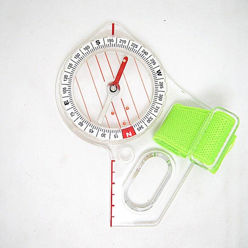 Профессиональный открытый большой палец компас соревнование элитное направление компас Портативный Компас Карта весы