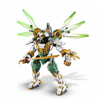 New Ninja Series Lloyd's Titan Mech Model Ninjagoeds Building Blocks Kids Boy Toy Bricks Gift 1