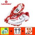 Обувь для велоспорта Sidebike  zapatillas mtb snekaers  дышащая Нейлоновая подошва  обувь для горного велосипеда  Размеры 35-46  2019