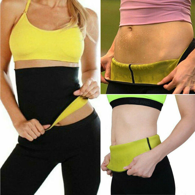 New Sport Waist Trainer Weight Loss for Women Sweat Thermo Wrap Body Shaper Belt Gym 3