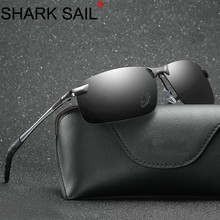 SHARK SAIL Mens Polarized Sunglasses Sports Outdoor Driving