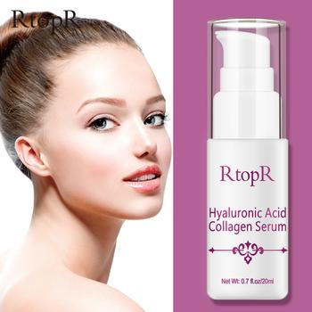 Kwas hialuronowy kolagen Serum do twarzy leczenie trądziku przeciw zmarszczkom esencja do pielęgnacji skóry pielęgnacja twarzy wybielanie przeciwzmarszczkowe Serum do twarzy tanie i dobre opinie RtopR Kobiet Balsam Twarzy surowicy Hyaluronic Acid Collagen Hyaluronic Acid Collagen Serum CHINA GZZZ YGZWBZ 20183656 All Skin