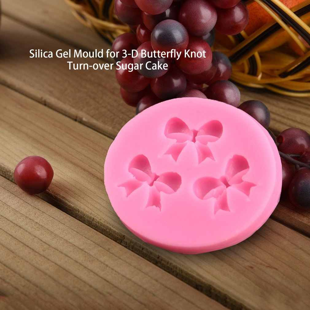 New Bow Ties Silicone Cake Mold 3D Chocolate Candy Mold DIY Cake Tools Baking Pastry Fondant Cake Decorating Tools