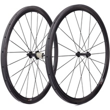 700c carbon wheelset 50*25mm clincher road bike wheels Powerway R13 100*9 130*9mm V Brake biycle carbon wheels 700c 1423 spokes 700c 23mm width tri spokes road bikes carbon wheels 50mm depth clincher tubular for road track bicycle 3 spokes wheelset