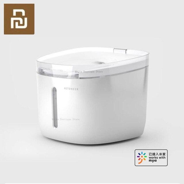 Xiaomi mijia petoneer ペット水ディスペンサー自動ペットウォーターディスペンサー噴水犬猫ペット製品 mijia アプリスマートホーム