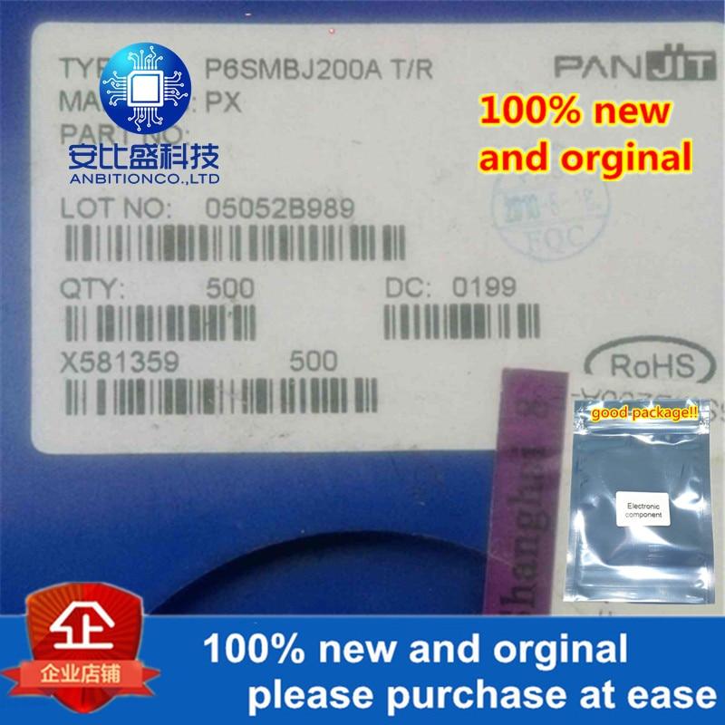 50pcs 100% New And Orginal SMBJ200A P6SMBJ200A DO214AA Silk-screen PX In Stock