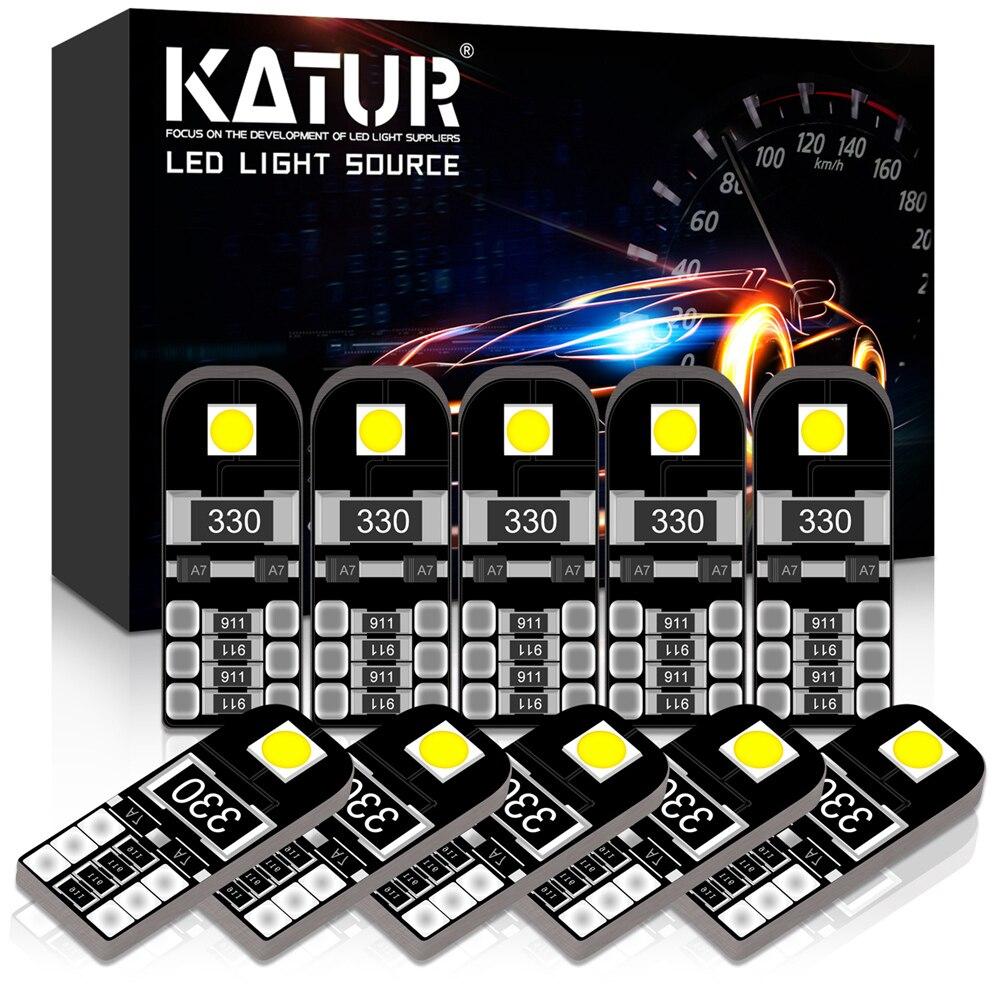 10x w5w luz interior do carro led t10 canbus lâmpadas 168 194 led para vw golf 4 5 6 7 gti beetle polo jetta mk6 passat b5 b6 b7 cc