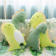 Creative cute couple stay dinosaur doll plush toy pillow