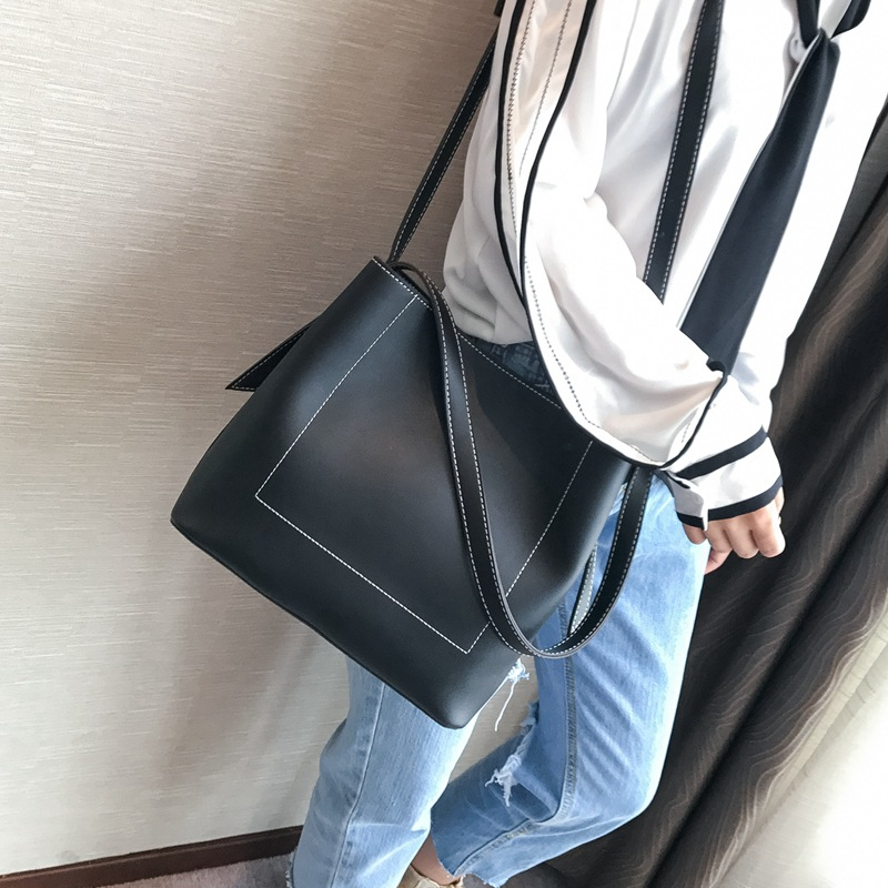 Women Bag Luxury Handbags/Shoulder Bag/Wallets and Bags/Large Handbag Leather 2018