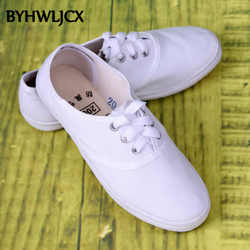 2019 New Men's Flat Vulcanized Shoes Casual Couple Canvas Shoes Breathable Outdoor Men's Running White Shoes Unisex Espadrilles