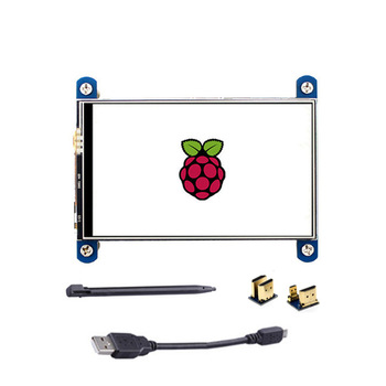 New 3.5 Inch USB HDMI TFT LCD Display Touch Screen 320x480 For Raspberry Pi 4B 3B+ raspberry pi 3b 5 inch lcd hdmi touch scree 800x480 tft 5 display screen with acrylic case for raspberry pi 2 raspberry pi 3b