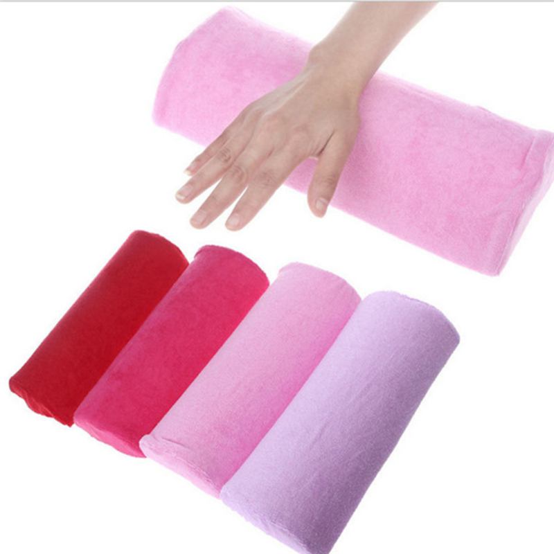 Soft Hand Rests Washable Hand Cushion Sponge Pillow Holder Arm Rests Salon Nail Art Hand Rests Pillow Cushion For Manicure
