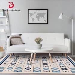 Bulle baiser Style nordique décontracté diamant motif tapis moderne maison personnalisée tapis pour salon chambre décor tapis de sol
