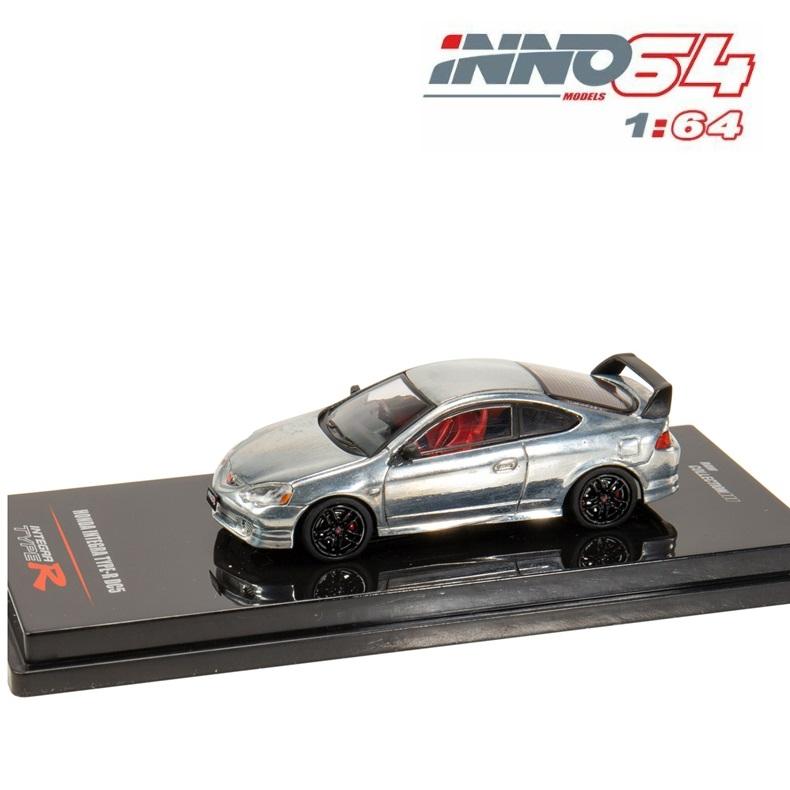 Inno64 1:64 HONDA INTEGRA TYPE R DC5 RAW COLLECTION Diecast Model Car