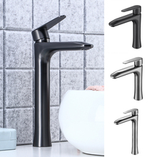 Bathroom Wash Basin Faucet Mixer Tap Hot and Cold Single Handle Desk Mounted Greg Gun Metal with 2 Flexible Inlet Hoses