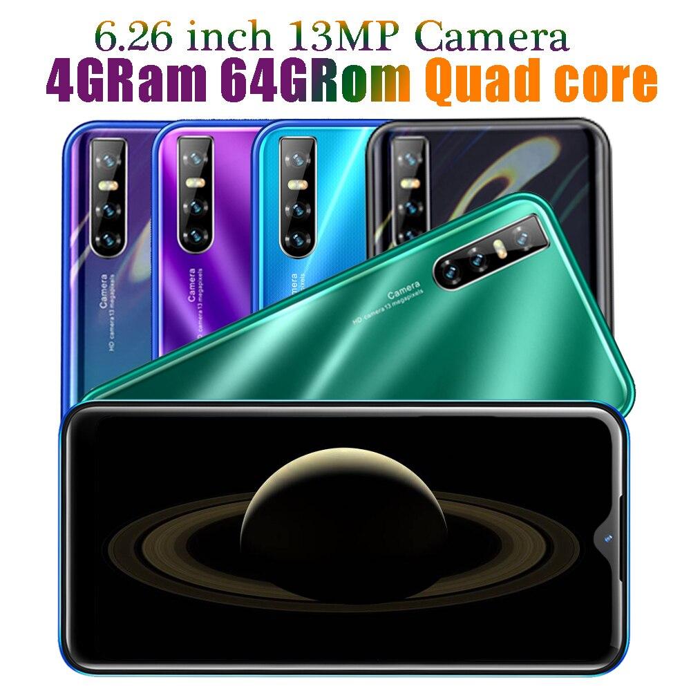 8A оригинальный Четырехъядерный 4G RAM Android мобильный телефон 6,26