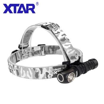 XTAR LED Headlamp Fishing Headlight Outdoor Camping Protable Head Lamp Torch Waterproof Flashlight Headlamp For 18650 Battery