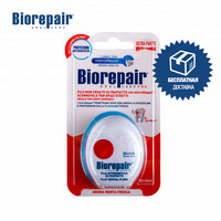 Dental Floss Biorepair GA1380800 beauty health picks ultra flat without wax oral hygiene and care