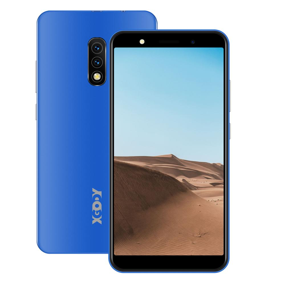 XGODY мобильные телефоны Android 8,1 5 дюймов 18:9 1 ГБ 8 ГБ смартфон MTK6570N Dual SIM 5MP Камера 2500 мА/ч, GPS Wi-Fi 3G телефоны Коврики 10