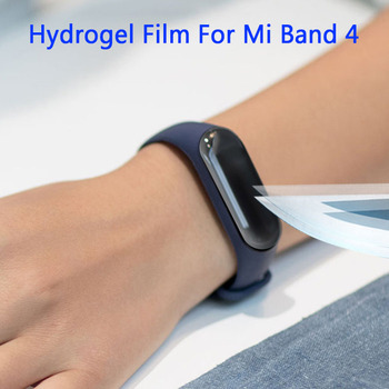 Hydrogel Film For Mi Band 4 Screen Protective Glass Film For Xiaomi Mi Band 4 Smart Wristband Bracelet Smart Watch Tempered Flim image