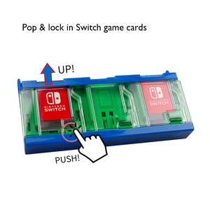 Image 5 - For Nintend Switch Push Game Cards Case NS Hard Shell Special Box for Nintendo Switch Lite Mini Games Storage Accessories 6 in 1