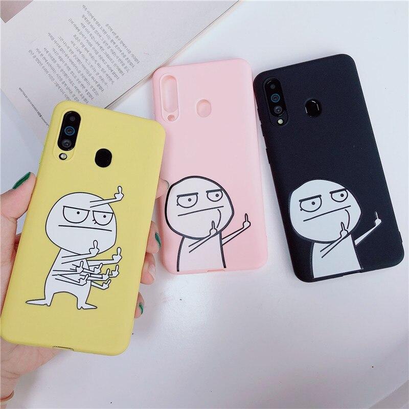 Cartoon Soft Silicone Phone Case For Samsung Galaxy M10 M20 M30 M40 A10 A20 A30 A40 A50 A60 A70 A80 A6 A8 A7 J4 J6 J8 2018 Cover