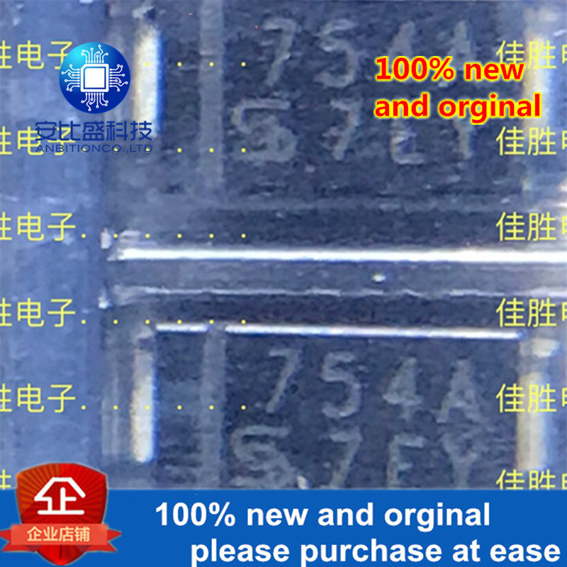 50pcs 100% New And Orginal 1SMA4754A 1W39V Pressure Stabilizing Tube DO214AC Silk-screen 754A In Stock